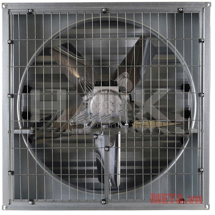 Lưới phía bên trong để bảo vệ an toàn, tránh dị vật bị hút vào