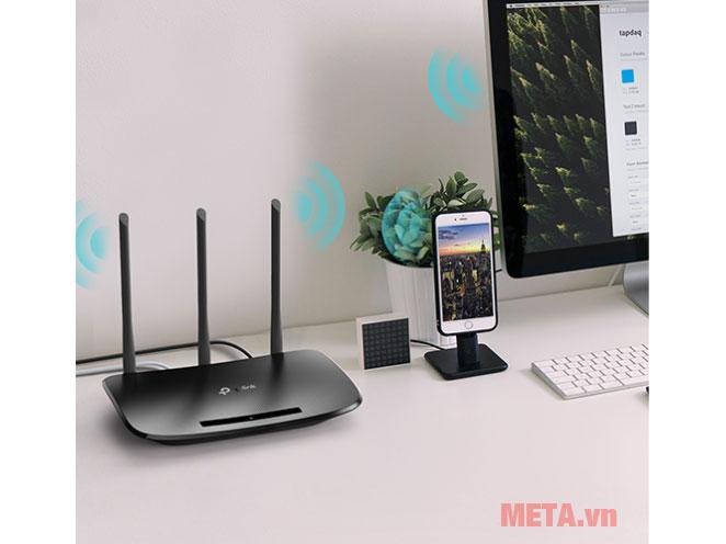 Thiết bị phát wifi TP-Link TL-WR940N kết nối Internet chỉ trong vài phút