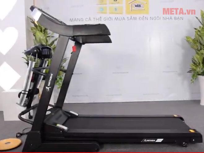 Hình ảnh thực tế máy chạy bộ Ganas T500