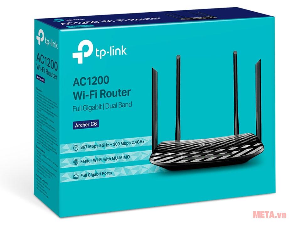 Hộp đựng router Wifi TP-Link Archer C6