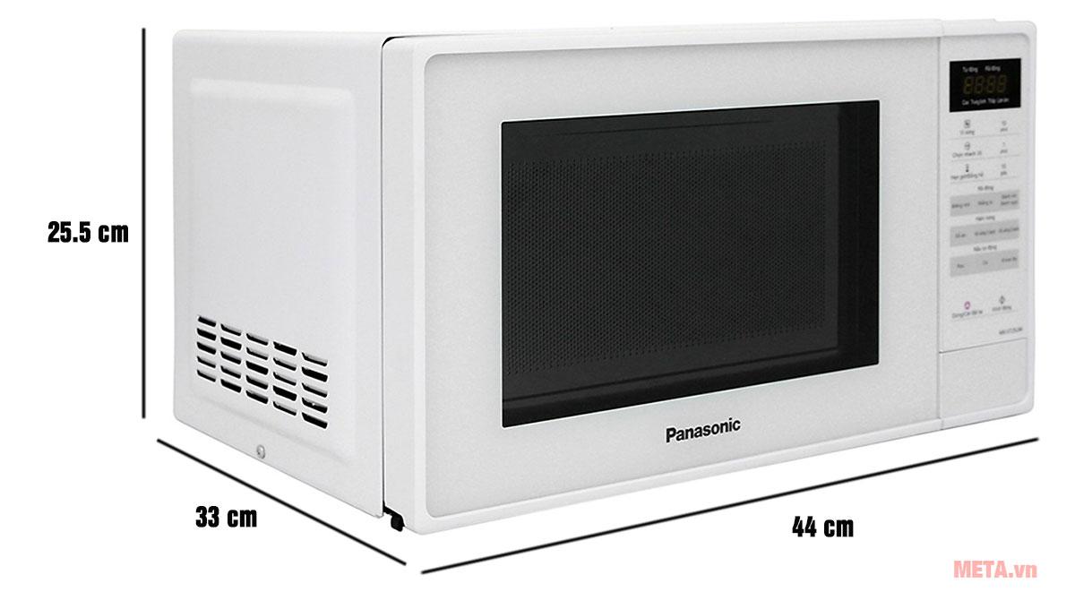 Lò vi sóng điện tử Panasonic NN-ST25JWYUE kích thước nhỏ gọn