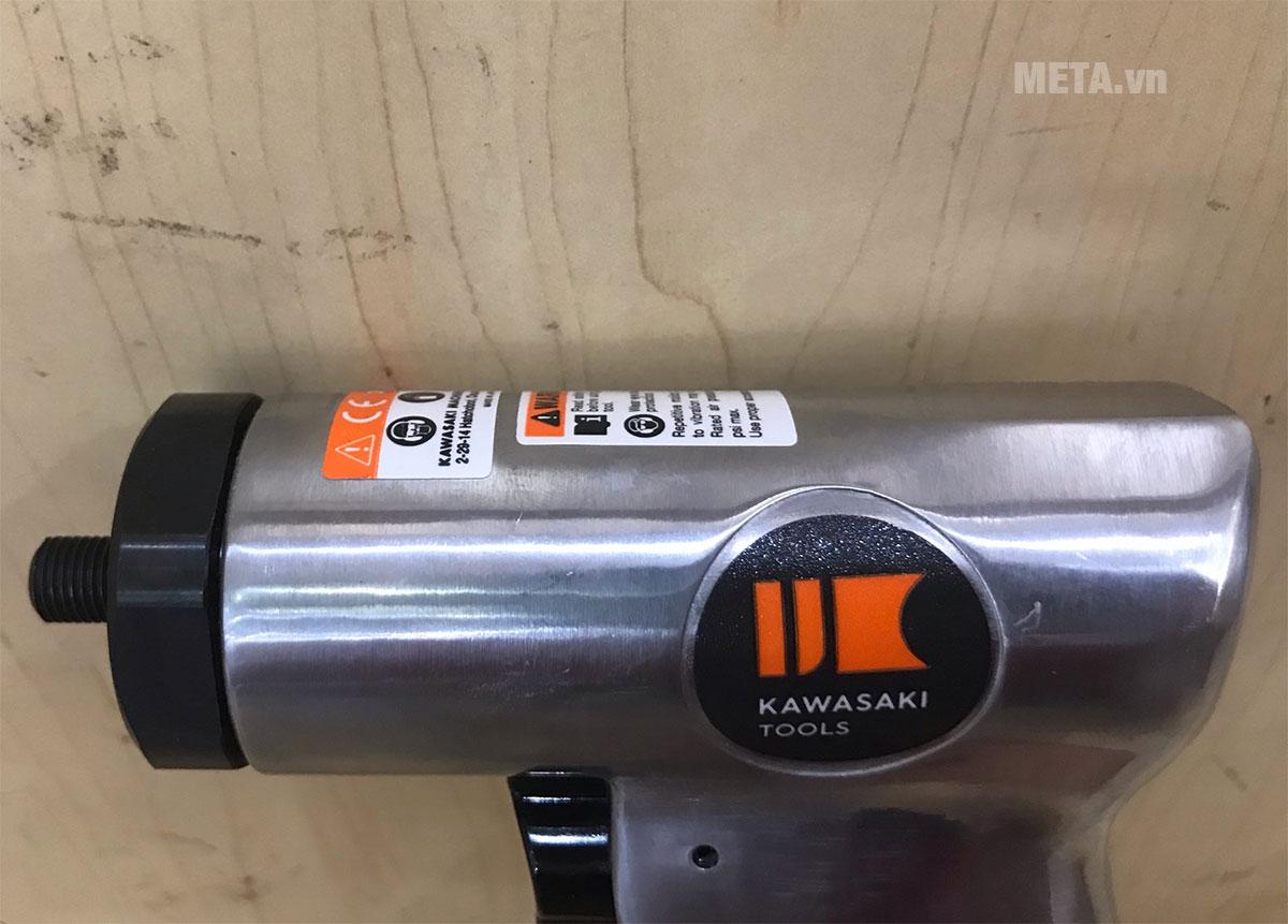 Máy khoan khí nén Kawasaki KPT-63D thiết kế chắc chắn