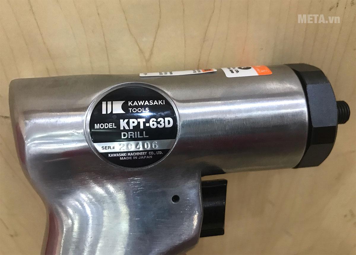 Hình ảnh thực tế máy khoan khí nén Kawasaki KPT-63D