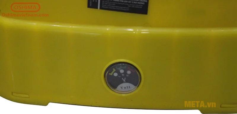 Đồng hồ đo áp suất dễ dàng quan sát