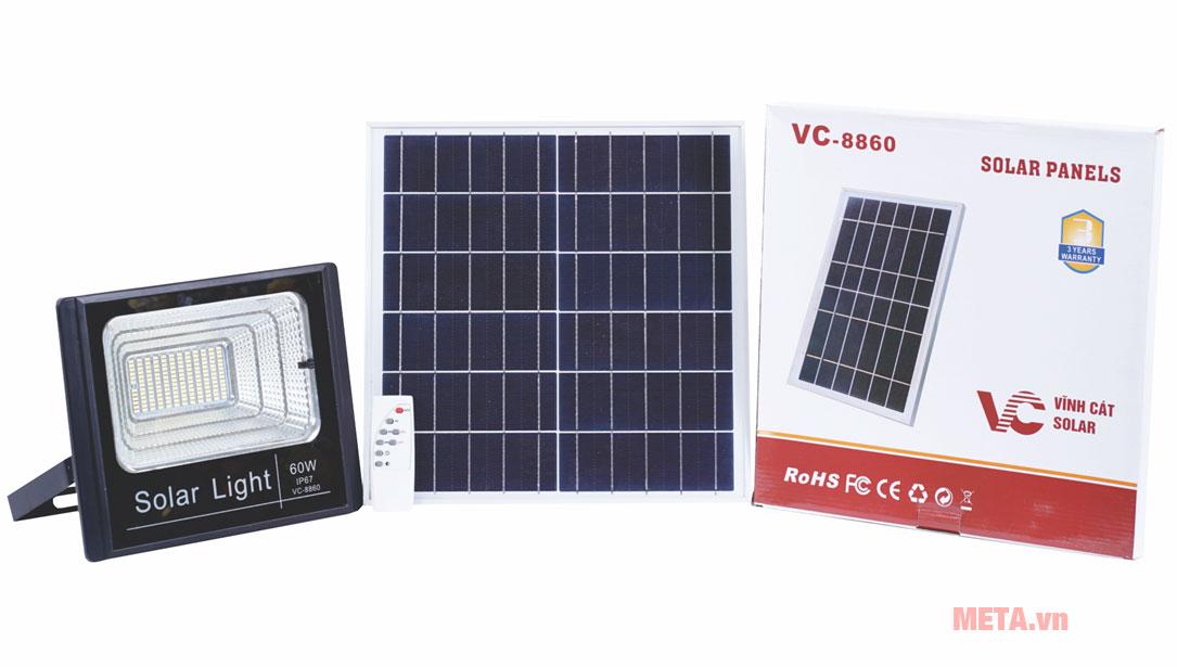Trọn bộ sản phẩm đèn năng lượng mặt trời