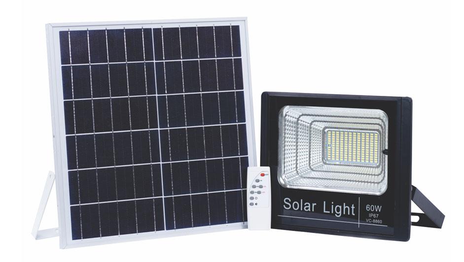 Đèn Led năng lượng mặt trời 60W-VC-8860