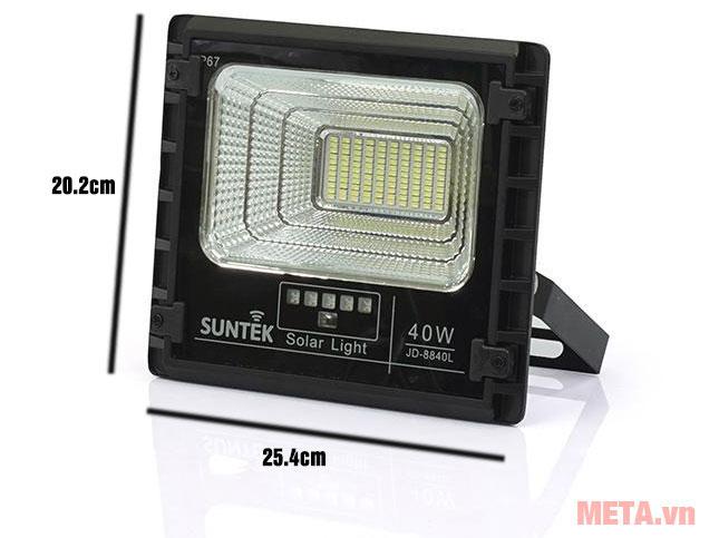 Kích thước bóng đèn SUNTEK JD-8840