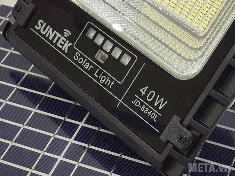 Đèn LED năng lượng mặt trời SUNTEK JD-8840 công suất 40W