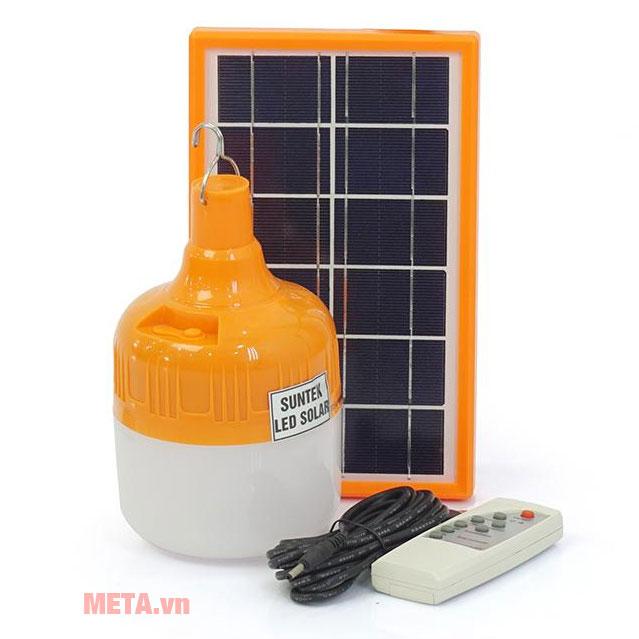 Bộ sản phẩm đèn tích điện năng lượng mặt trời SUNTEK SC-126