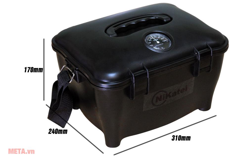 Kích thước hộp chống ẩm Nikatei DRYBOX