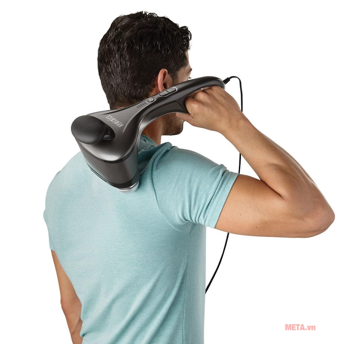 Máy massage 2 đầu nóng lạnh HoMedics HHP-500H giúp thư giãn tuyệt vời