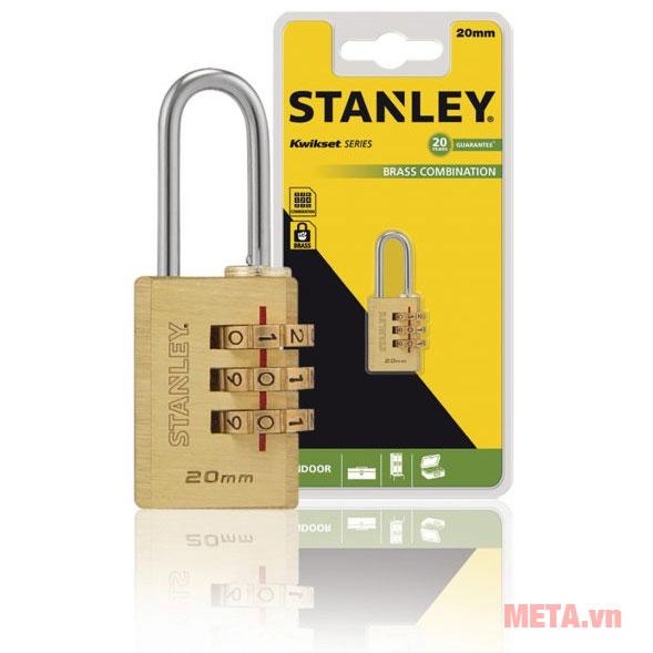 Ổ khóa số Stanley S742-050 dùng để bảo vệ những vật dụng có yêu cầu về an ninh