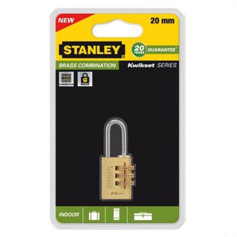 Hình ảnh ổ khóa số Stanley S742-050