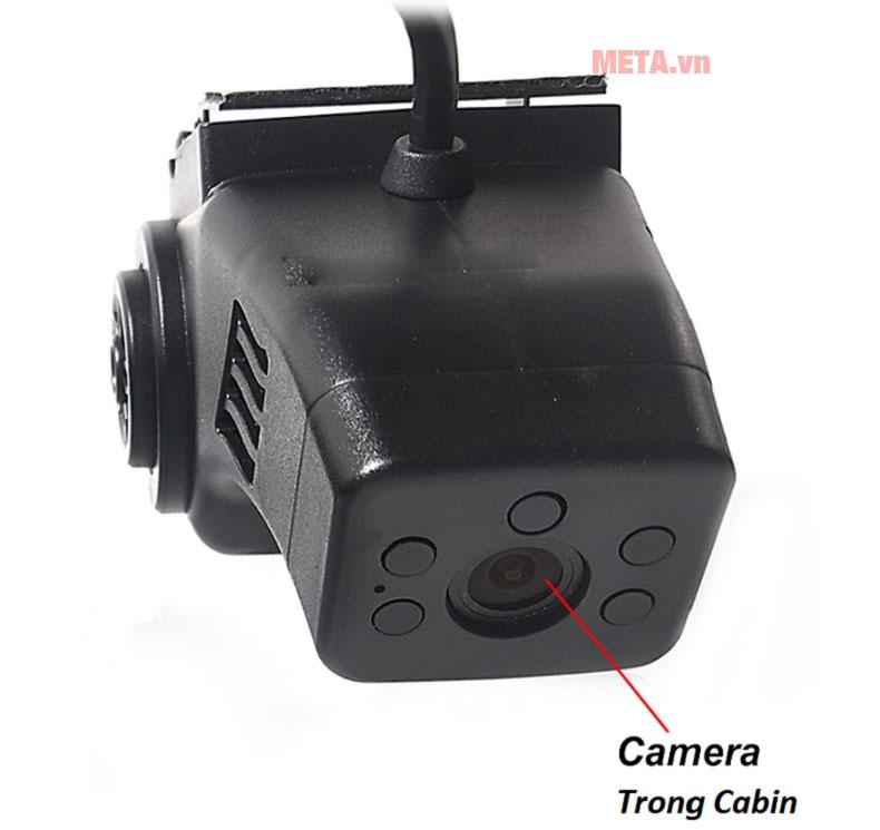 Camera ghi hình trong cabin trang bị 4 mắt hồng ngoại quan sát được cả ban đêm