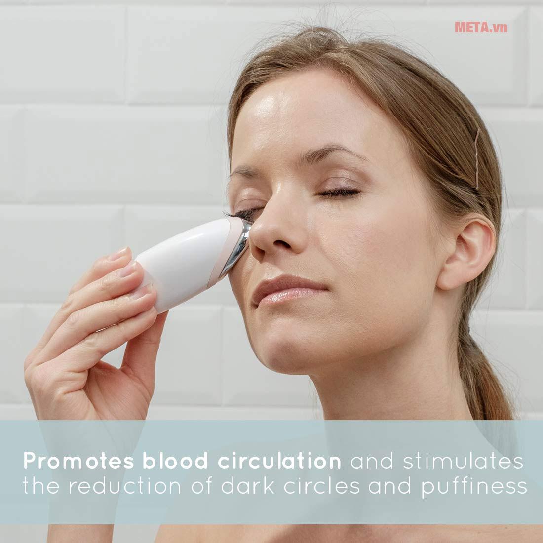 Máy massage mặt HoMedics FHC-300 giúp làm trẻ hóa làn da