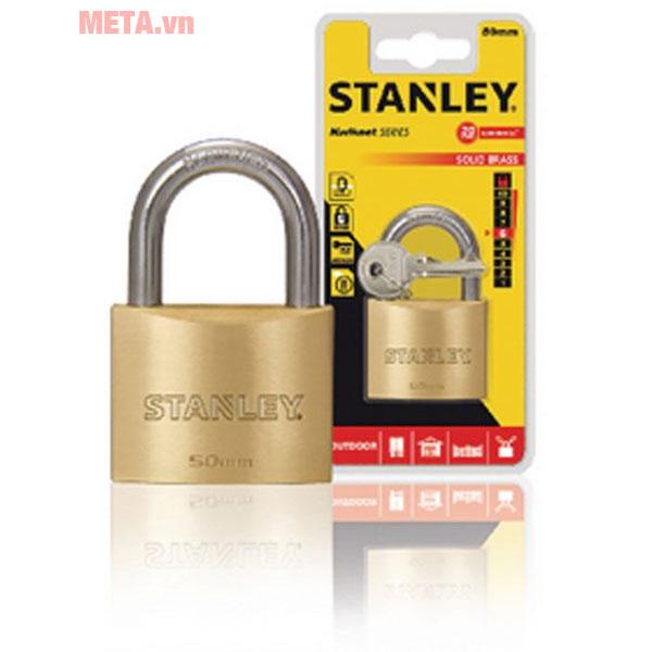 Ổ khóa Stanley S742-032 được làm từ chất liệu cao cấp