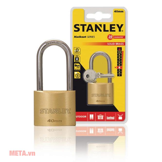 Ổ khóa Stanley S742-043 tiết kiệm chi phí an ninh