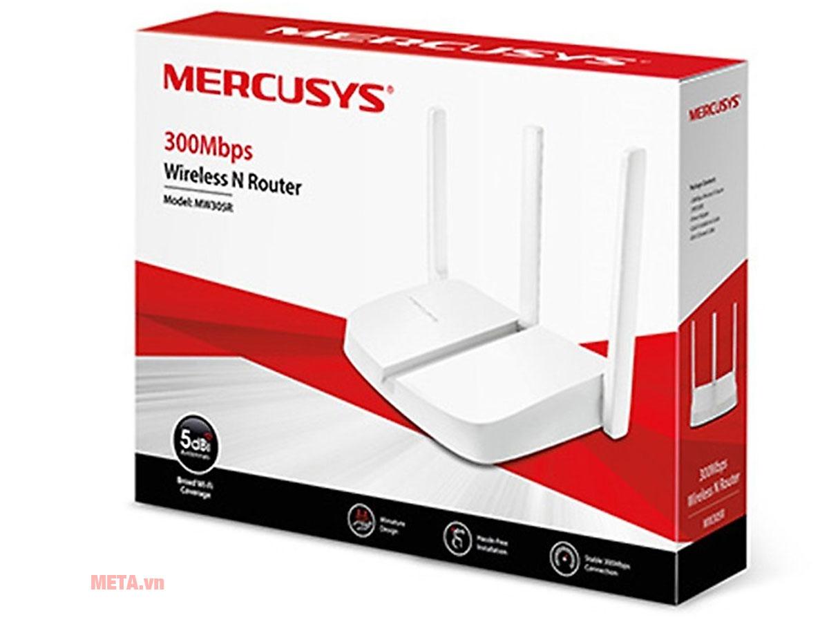 Hộp đựng bộ phát Wifi Mercusys MW305R (3 râu)