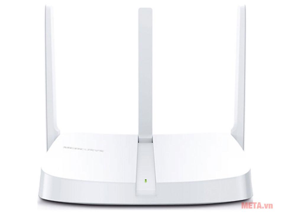 Bộ phát Wifi Mercusys MW305R với 3 ăng ten 5dBi làm tăng đáng kể cường độ tín hiệu không dây