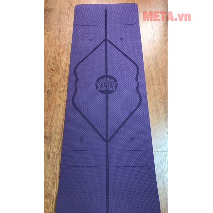 Thảm yoga định tuyến 8mm