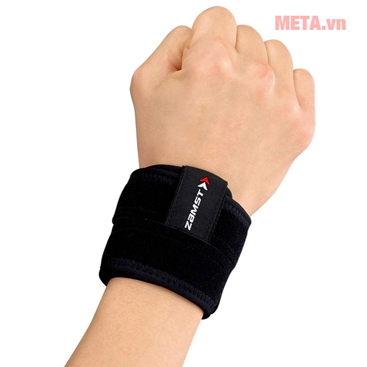Hình ảnh đai bảo vệ cổ tay Zamst