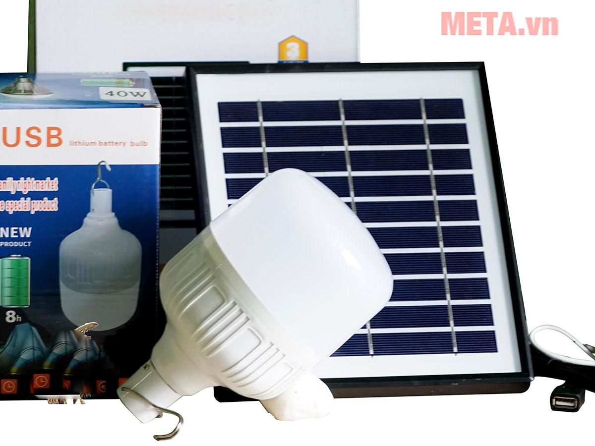 Bóng đèn tích điện năng lượng mặt trời