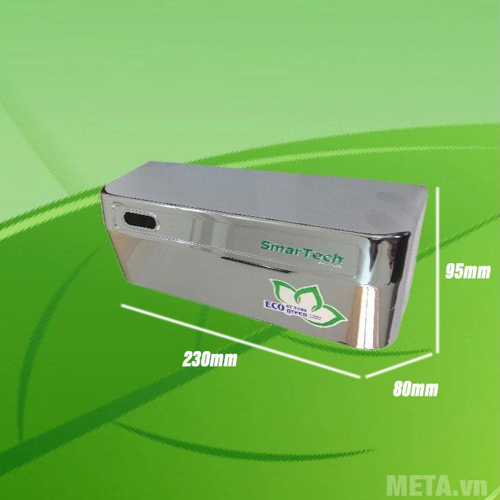 Kích thước van cảm ứng Smartech ST - V300