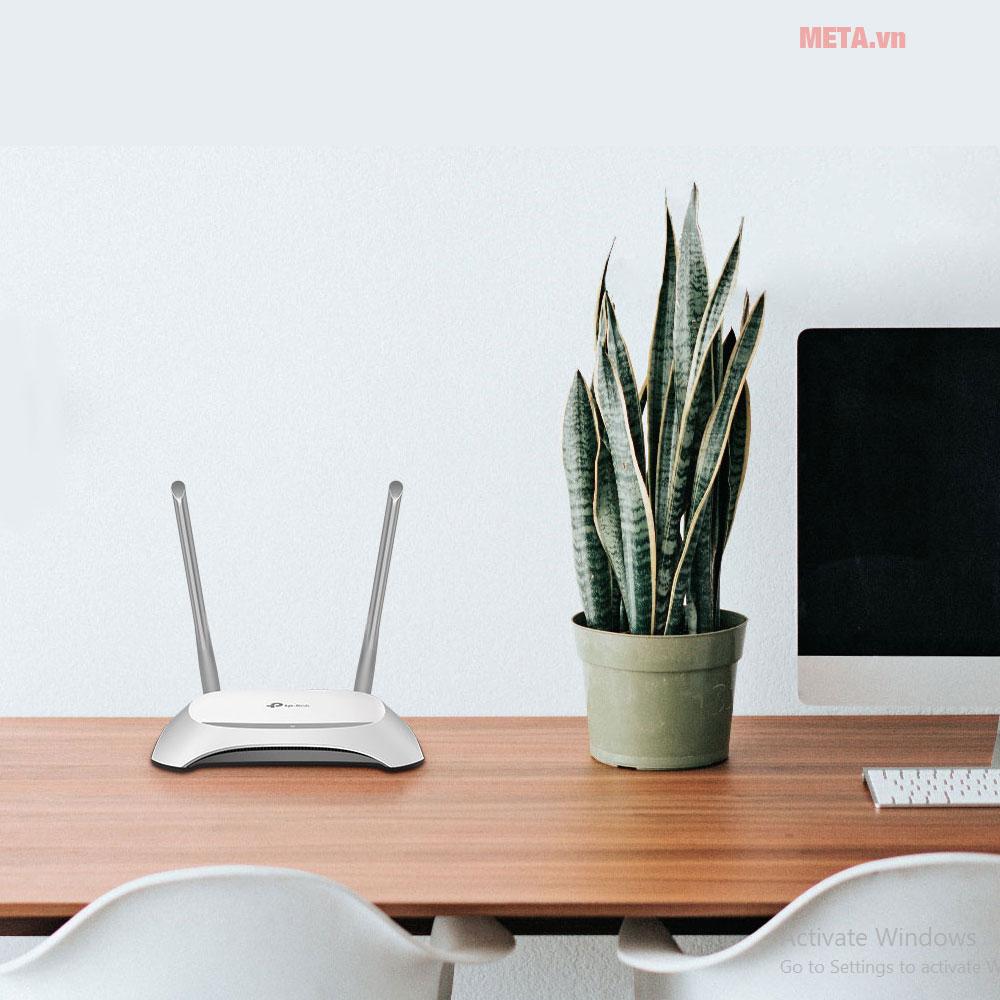 Bộ phát wifi TP-Link TL-WR840N phục vụ các nhu cầu giải trí, lướt web tại gia đình