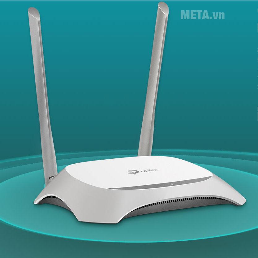 Bộ phát wifi TP-Link TL-WR840N với 2 ăng ten, tăng tốc độ mạng không dây
