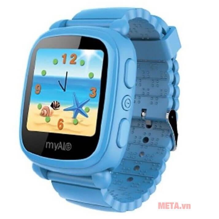 Điện thoại trẻ em myAlo Kidsphone KS62W màu xanh