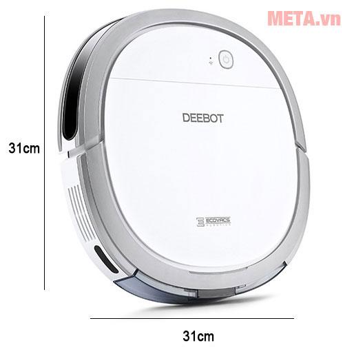 Kích thước robot hút bụi thông minh