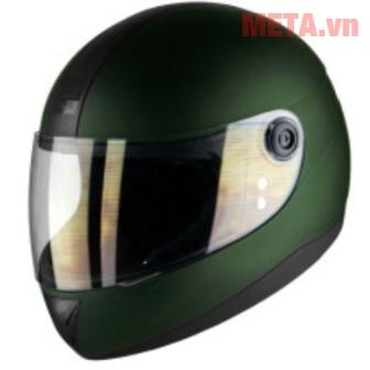 Mũ bảo hiểm màu xanh lính