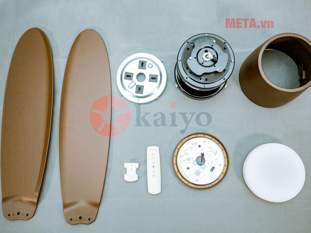 Quạt trần đèn Kaiyo