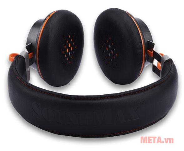 Tai nghe SoundMax BT300 thiết kế dạng chụp tai