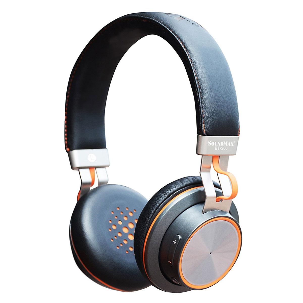 Hình ảnh tai nghe bluetooth SoundMax BT300
