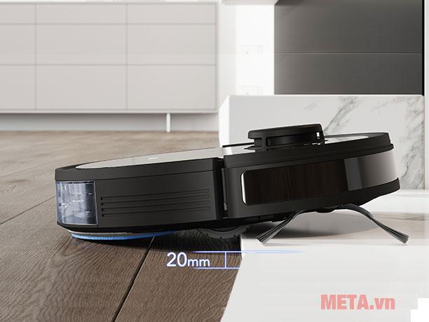 Robot hút bụi Ecovacs OZMO950 DX9G có khả năng nâng mình 2cm