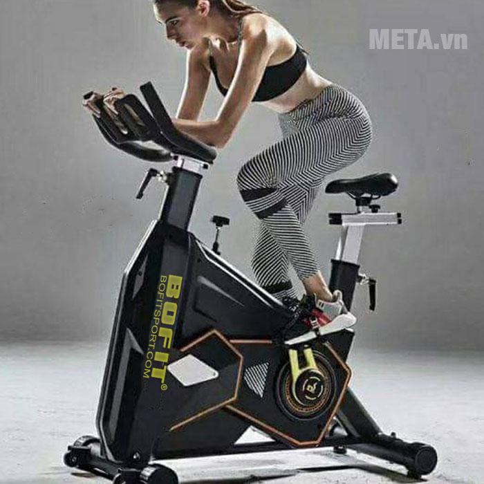Xe đạp tập BoFit B7 giúp luyện tập hiệu quả