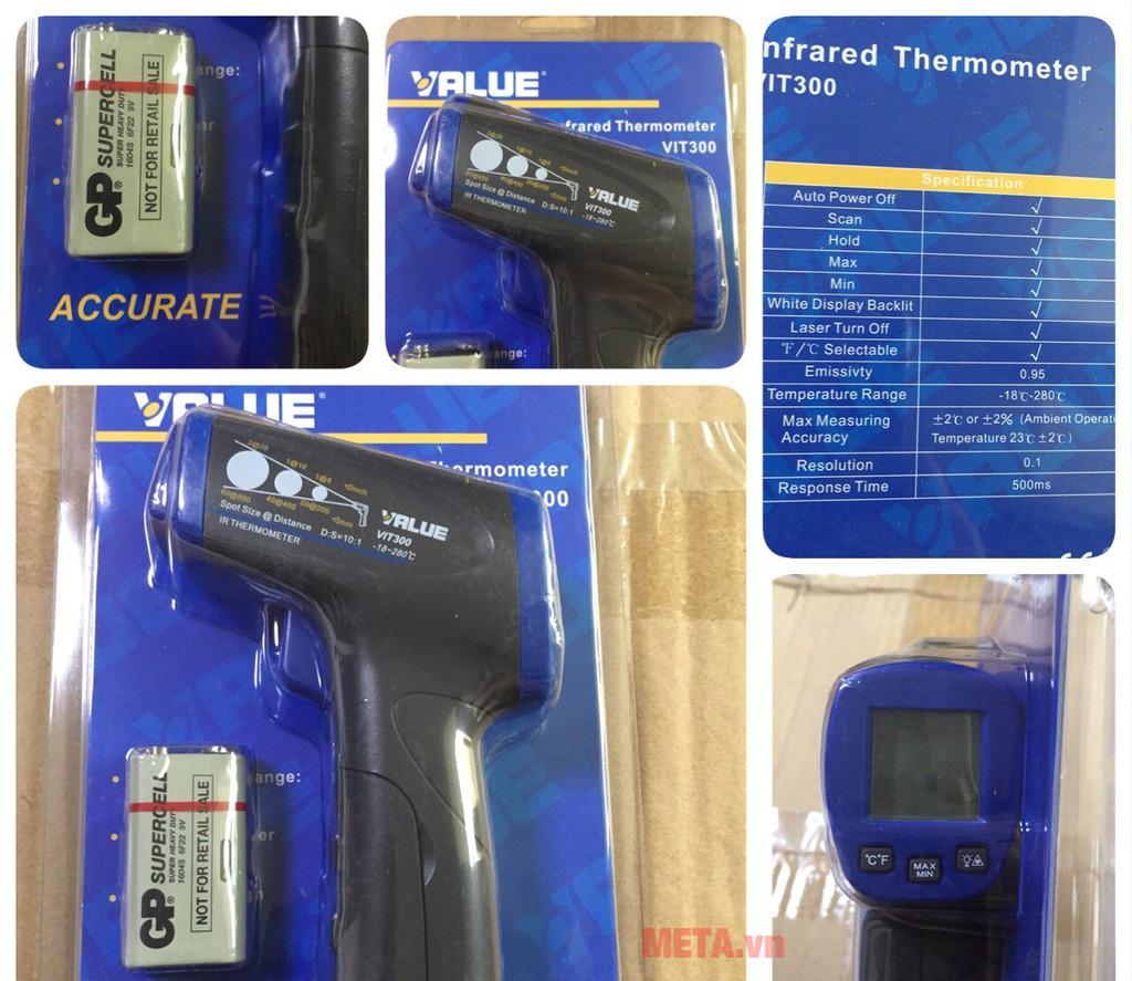 Súng đo nhiệt độ dùng pin