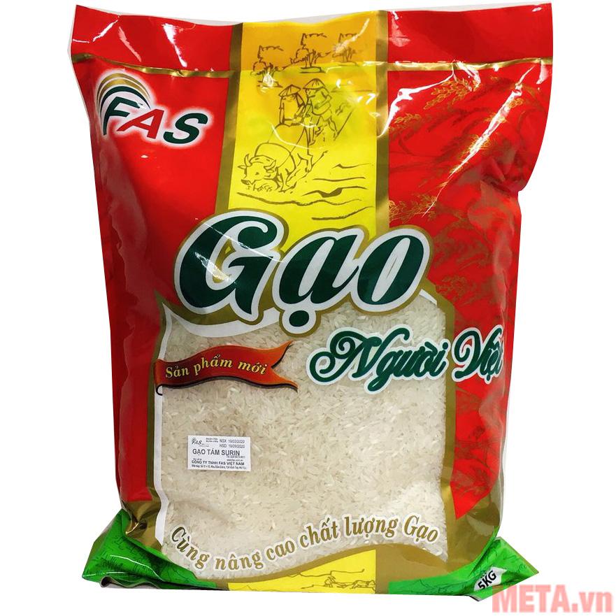 Gạo tám thái đỏ Việt Nam