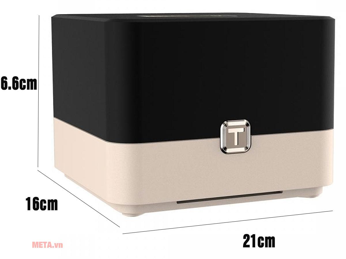 Kích thước bộ phát wifi Totolink T10