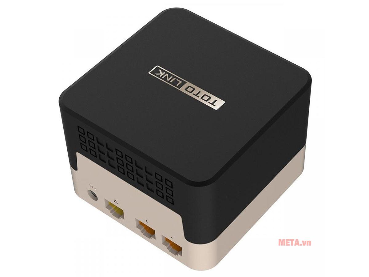 Totolink T10 cho phép 2 băng tần hoạt động cùng lúc