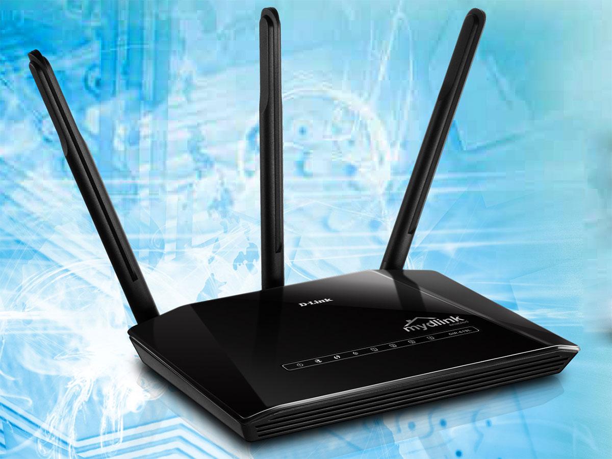 Thiết bị phát wifi Dlink DIR-619L giúp bạn thêm truy cập internet lân cận với 3 ăng ten