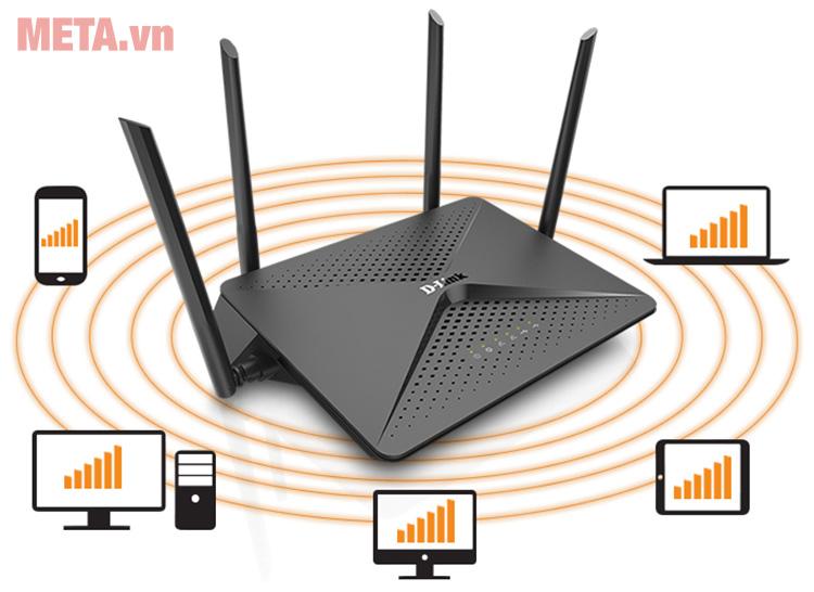 Thiết bị không dây Router Wifi D-Link