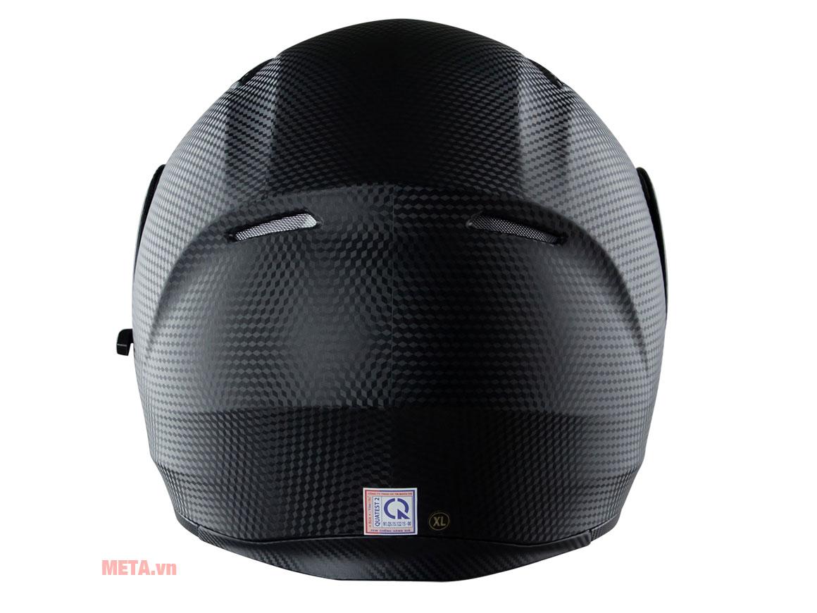 Mũ bảo hiểm Royal M179 được làm từ nhựa ABS chống va đập cao