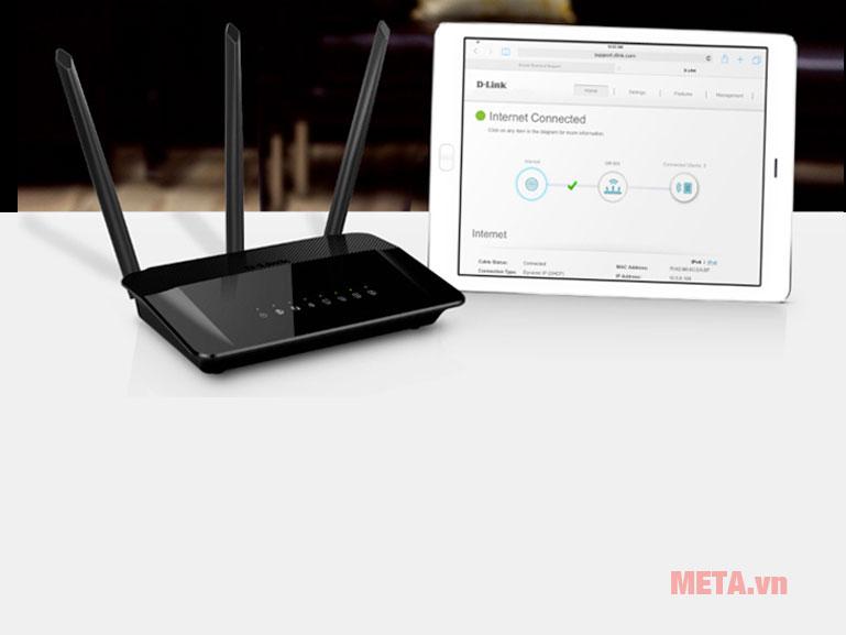 Kết nối với các thiết bị thông minh dễ dàng