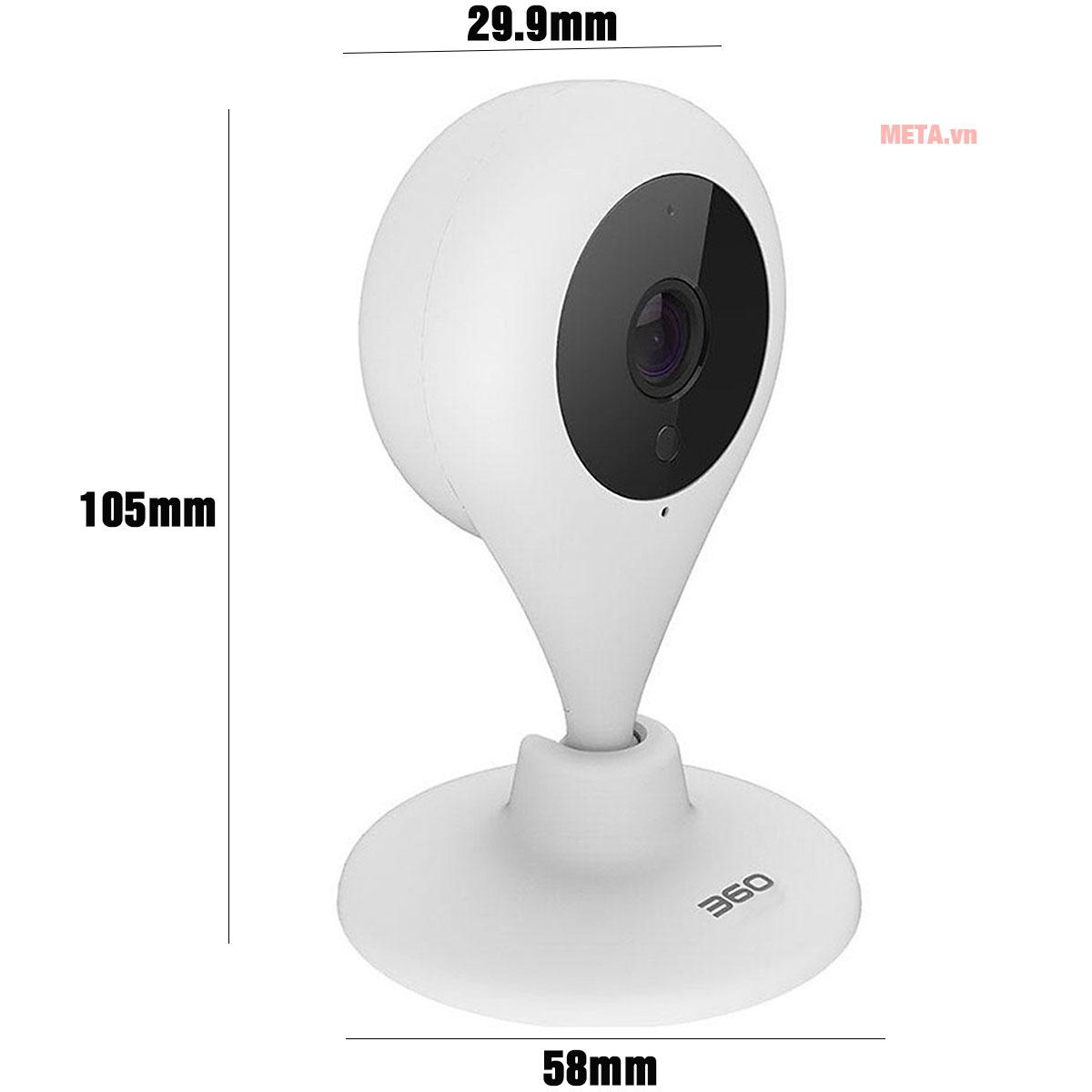 Kích thước camera wifi