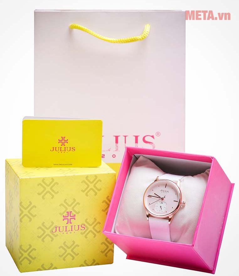 Đồng hồ nữ JA-1244 Julius dây da