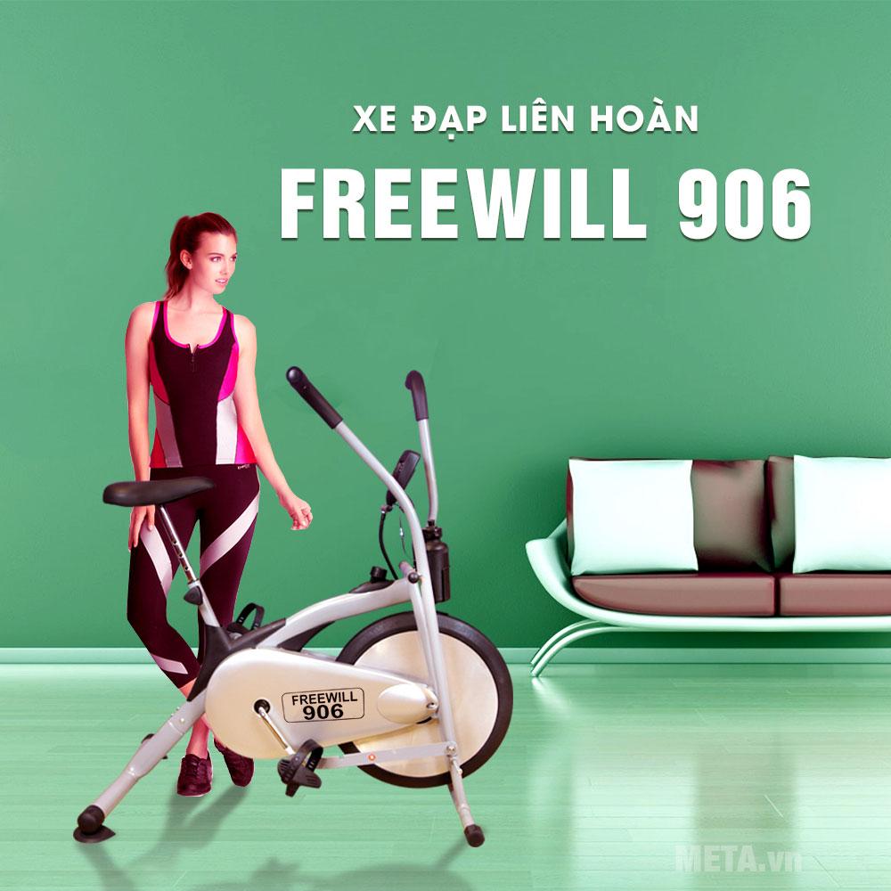 Xe đạp liên hoàn Genus FR906 thiết kế nhỏ gọn