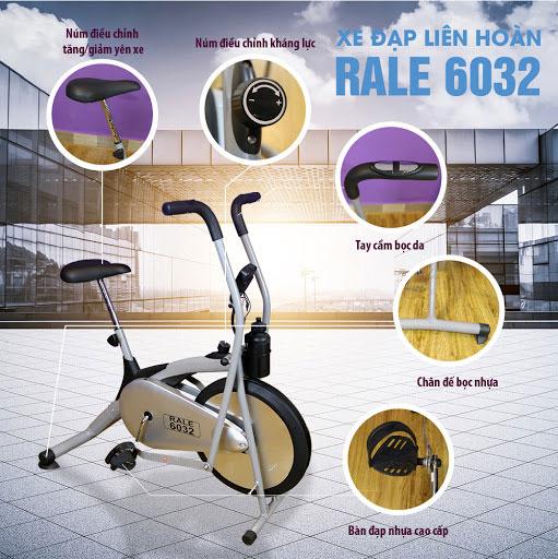 Xe đạp tập Royal-RL6032