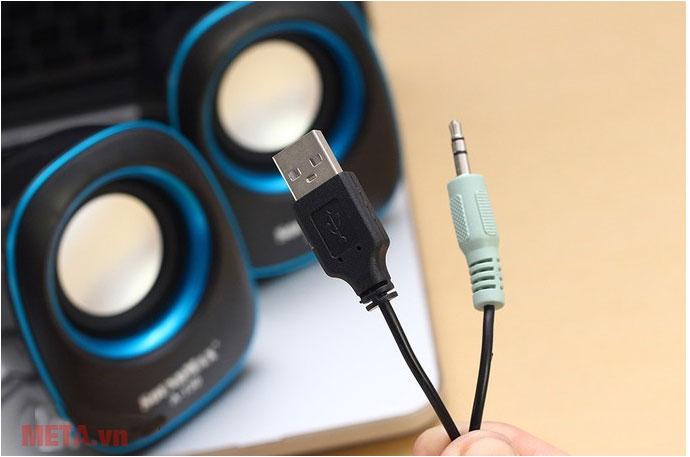 Đầu sạc USB và jack 3.5mm